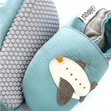 Pantofi cu talpă moale Liliputi cu crampoane antialunecare - Jumbo [1]