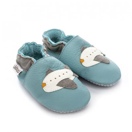 Pantofi cu talpă moale Liliputi cu crampoane antialunecare - Jumbo [2]