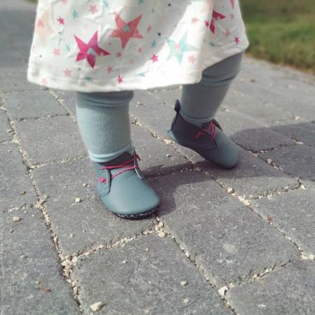 Pantofi cu talpă moale Liliputi cu crampoane antialunecare - Urban Cloud3