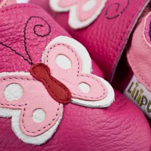 Pantofi cu talpă moale Liliputi® - Butterfly1