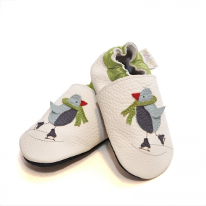 Pantofi cu talpă moale Liliputi® - Cool Penguin0