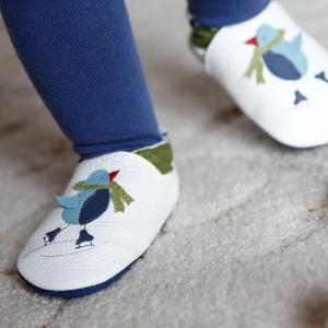 Pantofi cu talpă moale Liliputi® - Cool Penguin1