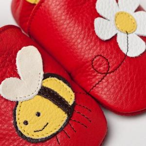 Pantofi cu talpă moale Liliputi® - Little bee1