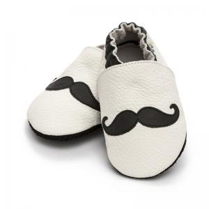 Pantofi cu talpă moale Liliputi® - Moustache [0]