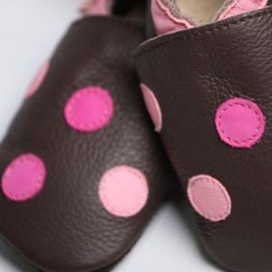 Pantofi cu talpă moale Liliputi® - Polka Dots1