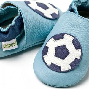 Pantofi cu talpă moale Liliputi® - Soccer shoes1