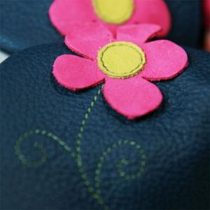 Pantofi cu talpă moale Liliputi® - Spring Flower1