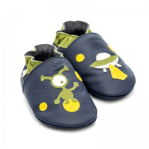 Pantofi cu talpă moale Liliputi® - Ufo0