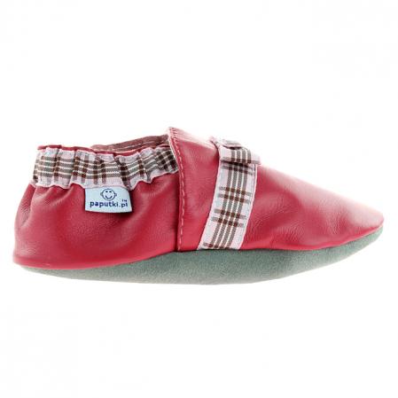 Papucei piele - Elegant Ribbon1