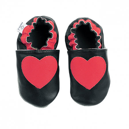 Papucei piele - Mister Love2