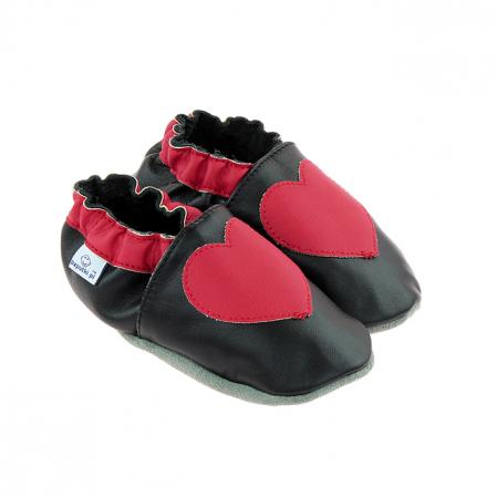 Papucei piele - Mister Love0