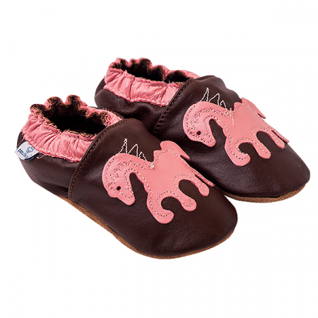 Papucei piele - Sweet Pony0