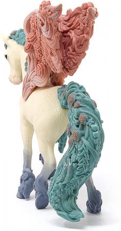 Pegasus impodobit cu flori - Figurina Schleich 705902