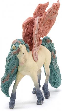 Pegasus impodobit cu flori - Figurina Schleich 705903