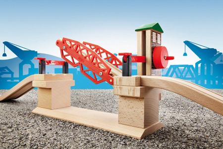 Podul de ridicare pentru calea ferată, Brio 33757 [4]