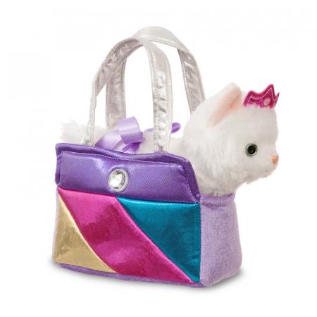 Prințesă pisoi în geantă - Fancy Pal - 20 cm, Aurora 611720