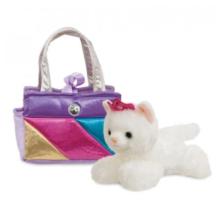 Prințesă pisoi în geantă - Fancy Pal - 20 cm, Aurora 611721
