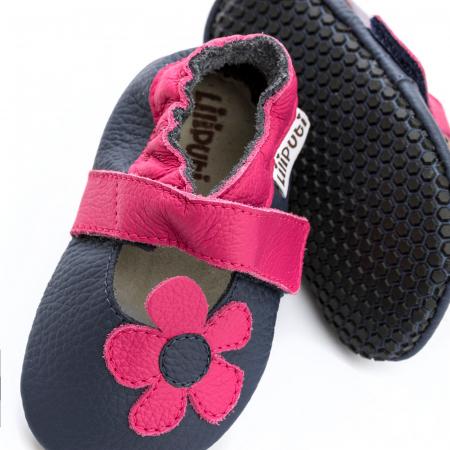 Sandale cu talpă moale Liliputi cu crampoane antialunecare - Hawaii2