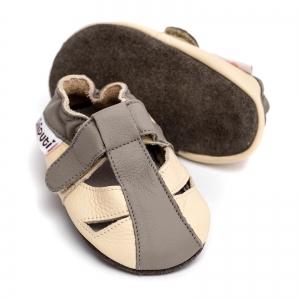 Sandale cu talpă moale Liliputi® - Greyhound2