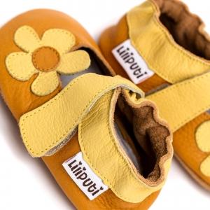 Sandale cu talpă moale Liliputi® - Sunflower4