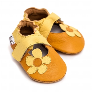 Sandale cu talpă moale Liliputi® - Sunflower0