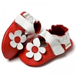 Sandale cu talpă moale Liliputi® - Hawaii Red0