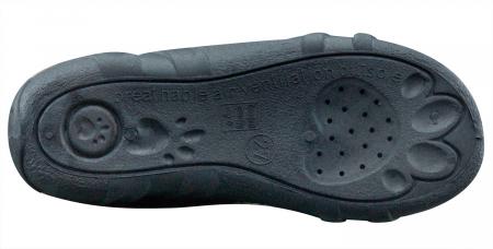 Sandale fete cu motive florale (cu scai), din material textil6