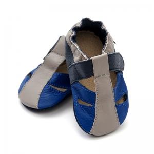 Sandale cu talpă moale Liliputi® - Atacama Navy0