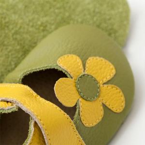 Sandale cu talpă moale Liliputi® - Kalahari Green1