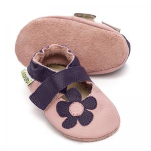 Sandale cu talpă moale Liliputi® - Lilac0