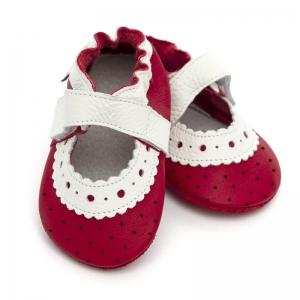 Sandale cu talpă moale Liliputi® - Red Rose0