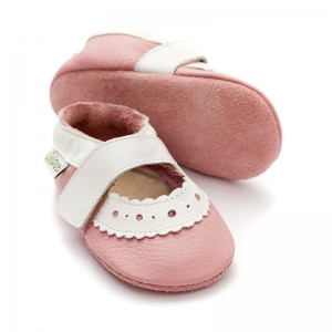 Sandale cu talpă moale Liliputi® - Sahara Pink0