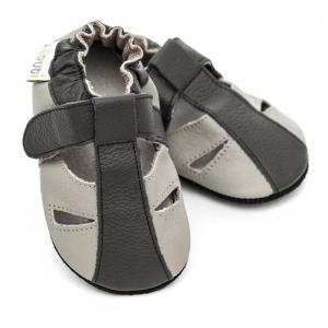 Sandale cu talpă moale Liliputi® - Stone0