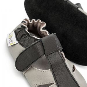 Sandale cu talpă moale Liliputi® - Stone1