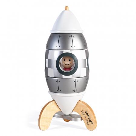 Set de construcție - Rachetă magnetică - Janod J05221 [0]