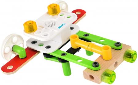 Set de construit din lemn - Record & Play, Brio 34592 [3]