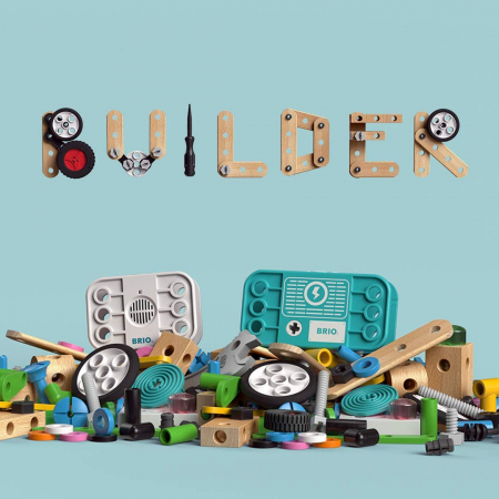 Set de construit din lemn - Record & Play, Brio 34592 [7]