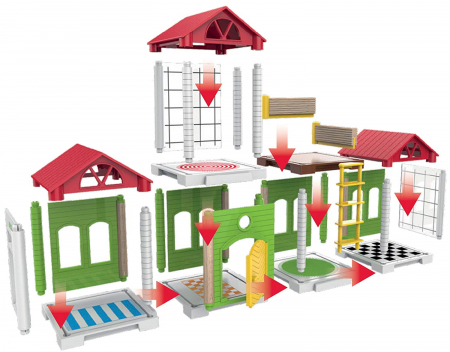 Set de tren deluxe BRIO World, 338704