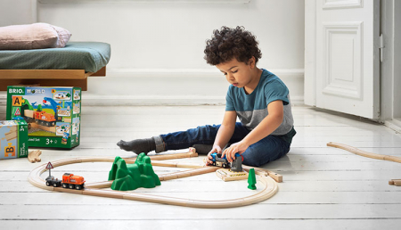 Set de tren deluxe BRIO World, 3387010