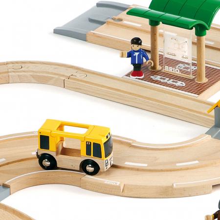 Set de tren personal și șosea, Brio 33209 [4]