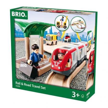 Set de tren personal și șosea, Brio 33209 [1]