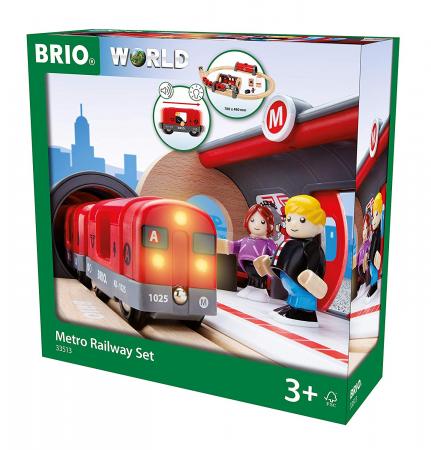 Set de tren tip metrou, Brio 335131