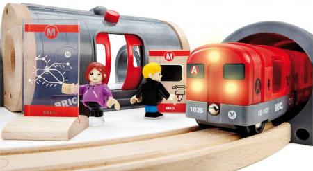 Set de tren tip metrou, Brio 335134