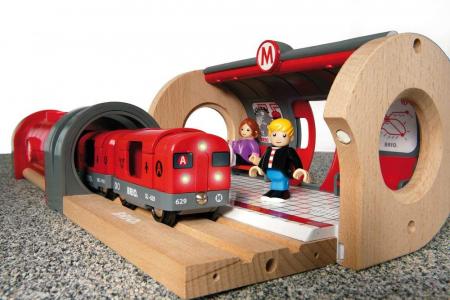 Set de tren tip metrou, Brio 335135