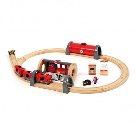 Set de tren tip metrou, Brio 335130
