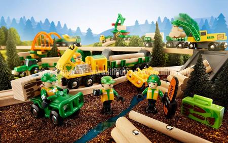 Set trenuleț forestier, Brio 337899