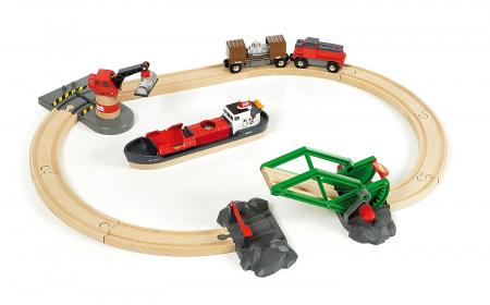 Setul de tren din port, Brio 330610