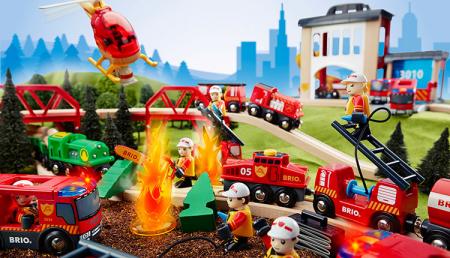 Stație centrală de pompieri, Brio 33833 [7]