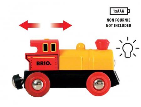 Trenuleț cu baterii, Brio 333192