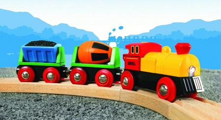 Trenuleț cu baterii, Brio 333195